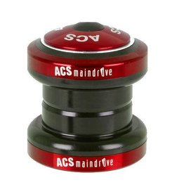ACS ACS Maindrive External Cup Headset Threadless Red 11/8""