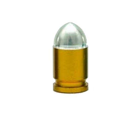 Trik Topz Valve Caps  Presta Bullet Gold
