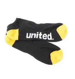 United Socks Black/Yellow