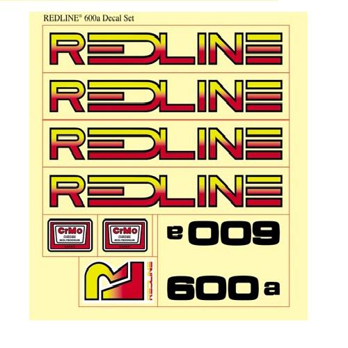 Redline Redline 1976 600A Decal Set 1 Sheet