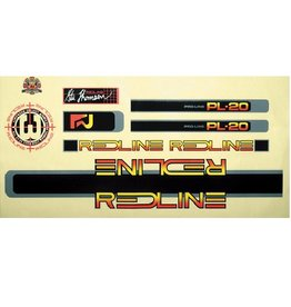 Redline Redline 1984 Proline PL20 Decal 1 Set