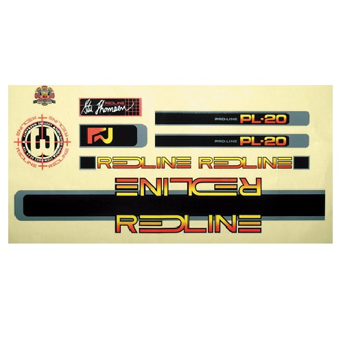 Redline Redline 1984 Proline PL20 Decal 1 Set