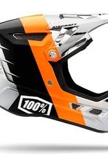 100% 100% Aircraft DH Helmet R8 Chrome
