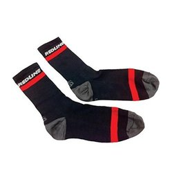 "Redline Redline 6"" Cuff Coolmax Socks Black Small"