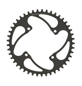 Rennen Design Group Rennen 4-Bolt Chainring Threaded Black