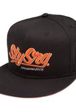 Stay Strong Stay Strong LA Orange/Black Snapback Hat