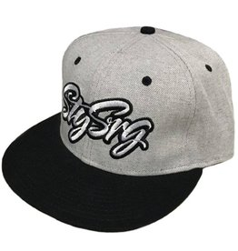 Stay Strong Stay Strong Icon Grey Snapback Hat
