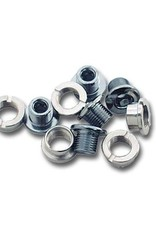 MCS Bicycles MCS Chainring Bolts Set of 5 Silver