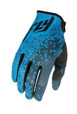 Fly Racing Fly Lite Glove Blue/Grey Yth MD 5