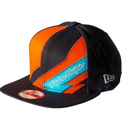 Troy Lee Designs Troy Lee Caution New Era Hat Orange/Black