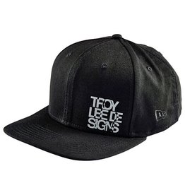 Troy Lee Designs Troy Lee Lockup New Era Hat Black