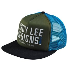 Troy Lee Designs Troy Lee Step Up New Era Hat Military