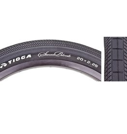 Tioga Tioga Streetblock Tires 20x2.25 Wire Black