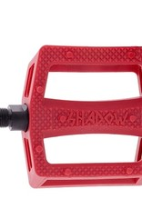 The Shadow Conspiracy TSC Ravager Plastic Pedal Crimson Red