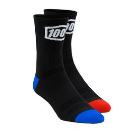 100% 100% Terrain Socks Black
