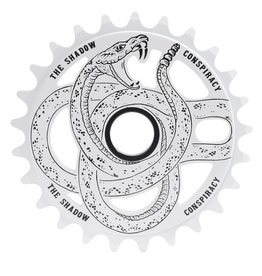 The Shadow Conspiracy TSC Serpent Sprocket White 25T