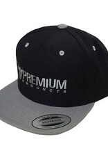 Haro Premium Snapback Hat Black/Grey