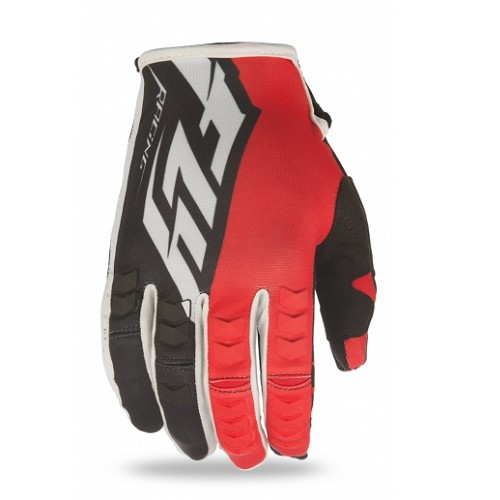 Fly Racing 2016 Fly Kinetic Glove Red/Black/White Yth XS 3