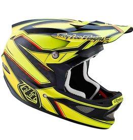 Troy Lee D3 Carbon Reflex Yellow SM
