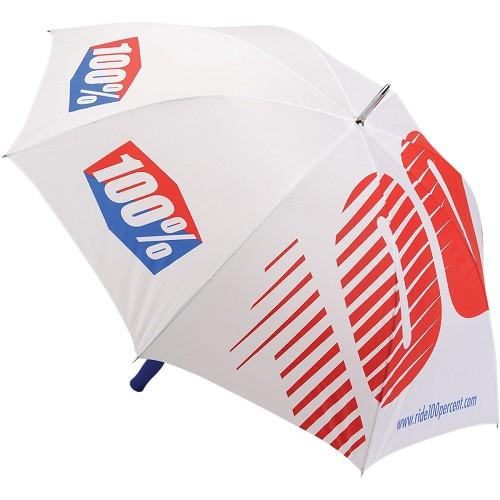 100% 100% Umbrella White Large