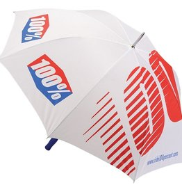 100% 100% Umbrella White Large