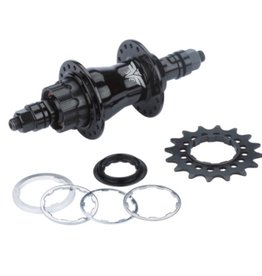 "Redline Redline Flight 120 Rear Hub 36H 3/8"" Black"