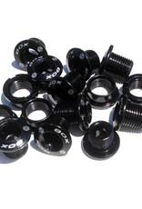 Box Components BOX Spiral 7075 Alloy Chainring Bolt Kit Black