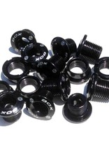 Box Components Box Spiral Cro-mo Chainring Bolt Kit Black