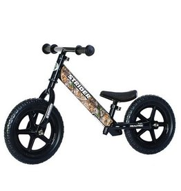 Strider Sports Strider 12 Sport Kids Balance Bike Real Tree