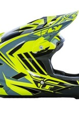 Fly Racing 2017 Fly Default Helmet  Hi-Vis/Black
