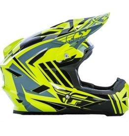 Fly Racing 2017 Fly Default Helmet  Hi-Vis/Black