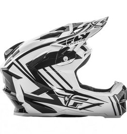 Fly Racing 2017 Fly Default Helmet White/Black