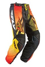 Fly Racing Fly F-16 Pant LTD Black/Orange/Yellow