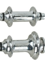 "Profile Racing Profile Racing Elite 36H Hub Set 3/8"" Axles Polished"