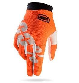 100% 100% iTrack Full Finger Glove Cal-Trans Yth MD
