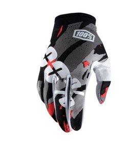 100% 100% iTrack Full Finger Glove Magemo Large