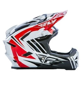 Fly Racing 2017 Fly Default Helmet Red/Blk/Wht