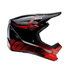 100% 100% Status DH/BMX Helmet Selecta Red