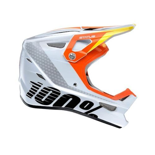 100% 100% Status DH/BMX Helmet D-Day White