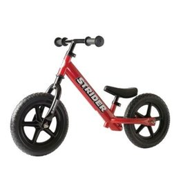 Strider Sports Strider 12 Classic Kids Balance Bike Red