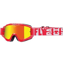 Fly Racing Fly Goggle Zone Turret Red
