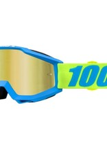 100% 100% Accuri Goggle Belize/Mirror Gold Lens