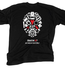 TSC T-Shirt Friday the 13th Black XL