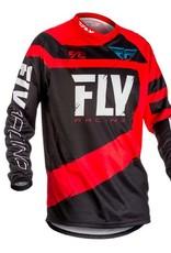 Fly Racing 2018 Fly F-16 Jersey Red/Black Yth SM