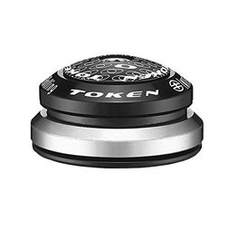 Token Token Alloy Integrated Headset 1 1/8'' - 1.5'' Black