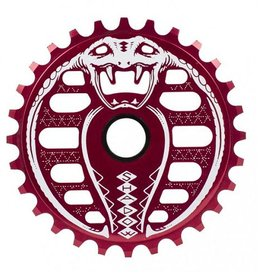 TSC Kobra Sprocket Crimson Red 25T