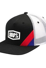 100% 100% Cornerstone Truck Youth Hat Black