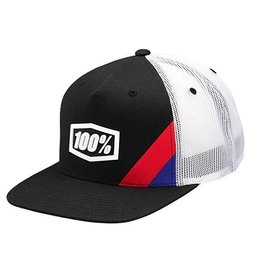 100% 100% Cornerstone Truck Youth Hat Black