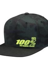 100% 100% Camber Snapback Youth Hat Camo
