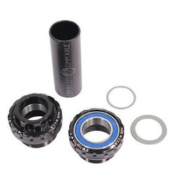 Profile Racing Profile Bottom Bracket Elite Outboard Euro 22mm Black